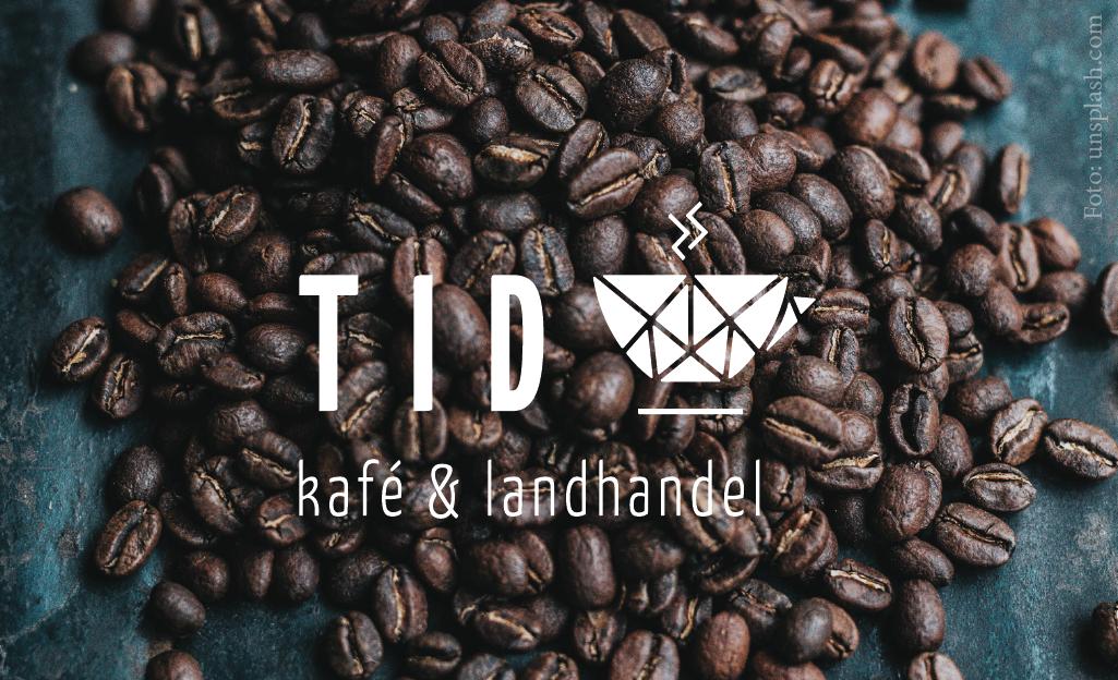 TID kafé & landhandel – Visuell identitet